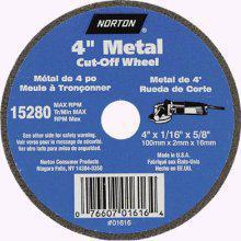 Norton Abrasives 01616 4x.4x5/8 Cut Off Blade