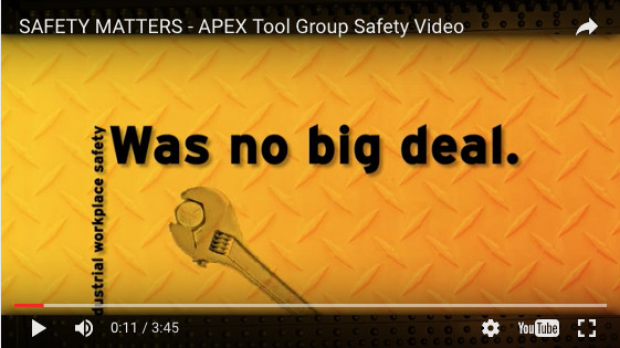 Safety Matters, Apex Tool Group