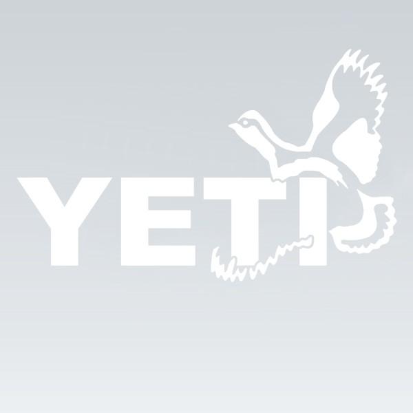 Wylaco supply yeti sportsmans decal